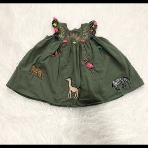 The Children's Place Green Baby Dress